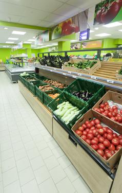 Фото стеллажных систем: стеллажи для овощей и фруктов